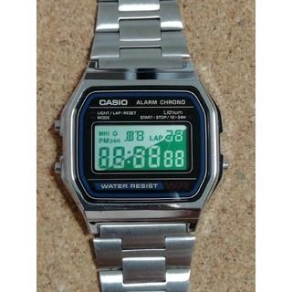 カシオ(CASIO)の【きむ- R様専用】チープカシオ腕時計 A158W-1JF(腕時計(デジタル))