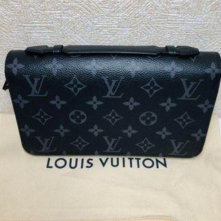 ルイヴィトン(LOUIS VUITTON)のルイヴィトン モノグラムエクリプス ジッピーXL財布(長財布)