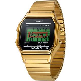 シュプリーム(Supreme)のSupreme Timex Watch Gold タイメックス 時計(腕時計(デジタル))
