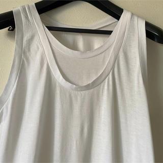 アップタイト(uptight)のUPTIGHT  * W襟ぐりロングT    (Tシャツ(半袖/袖なし))