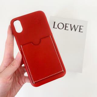 LOEWE - ラスト1【新品・希少品】LOEWE iPhoneX/XS iPhoneケース 赤