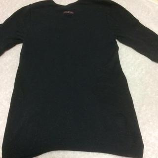ミズノ(MIZUNO)のミズノ ブレスサーモ 5部袖M ブラック 生協購入品 エアコン対策(アンダーシャツ/防寒インナー)