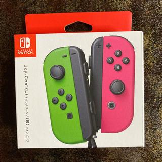 Nintendo Switch - Nintendo JOY-CON (L)/(R) ネオングリーン/ネオンピンク