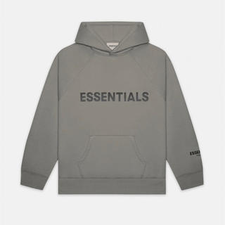 FEAR OF GOD - Fear Of God Essentials charcoal Hoodie