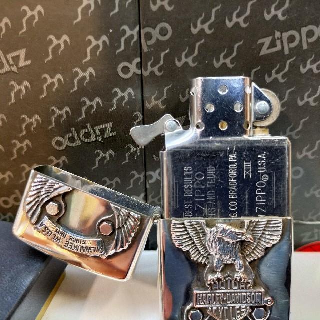 Harley Davidson(ハーレーダビッドソン)のZIPPO ハレーダビットソン  ビッグイーグル メンズのファッション小物(タバコグッズ)の商品写真