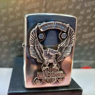 ハーレーダビッドソン(Harley Davidson)のZIPPO ハレーダビットソン  ビッグイーグル(タバコグッズ)