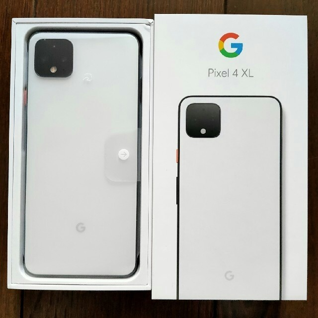 ANDROID(アンドロイド)の【新品未使用】  Google Pixel 4 XL 128GBホワイト スマホ/家電/カメラのスマートフォン/携帯電話(スマートフォン本体)の商品写真