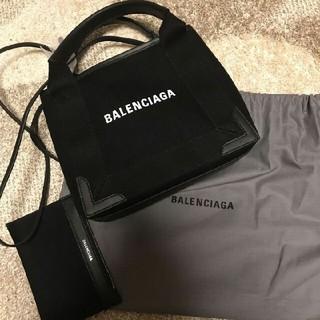 バレンシアガ(Balenciaga)のバレンシアガ キャンバストート バッグ ネイビー カバ xs(トートバッグ)
