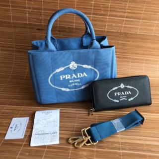 PRADA - 2点PRADA プラダ カナパX長財布セット