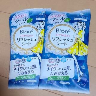 Biore - 新品⭐ビオレ メイクの上からリフレッシュシート2コセット