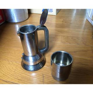 アレッシィ(ALESSI)のアレッシイ エスプレッソコーヒーメーカー(エスプレッソマシン)