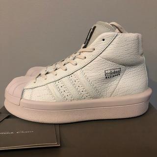 リックオウエンス(Rick Owens)の新品 adidas by rick owens マストドン プロモデル パール(スニーカー)
