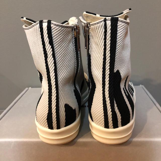 Rick Owens(リックオウエンス)の新品稀少 drkshdw by rick owens ボミット ラモーンズ メンズの靴/シューズ(スニーカー)の商品写真