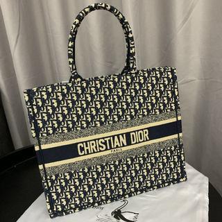 ディオール(Dior)のBOOK TOTE ディオール オブリック トートバッグ(トートバッグ)