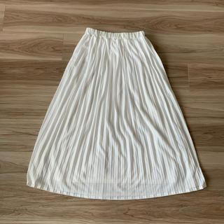 WEGO - ロングスカート ホワイト 白 プリーツ