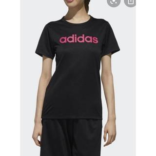 adidas - アディダス 半袖 Tシャツ ブラック 黒 レディース  トップス 夏 UPF25