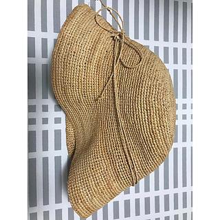ムジルシリョウヒン(MUJI (無印良品))の麦わら帽子 キャスケット 無印良品 MUJI ストローハット ラフィア(麦わら帽子/ストローハット)