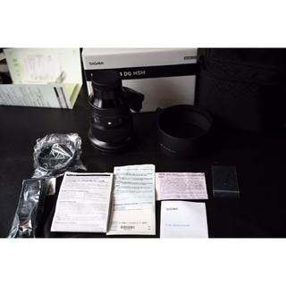 シグマ(SIGMA)の【美品】SIGMA 105mm f1.4 DG HSM ライカ Lマウント(レンズ(単焦点))