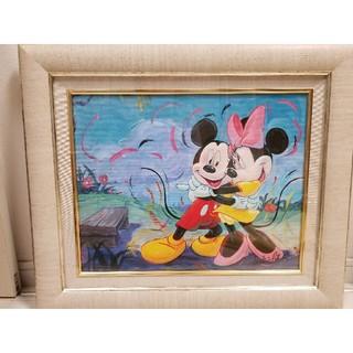 ディズニー(Disney)の本物 ディズニー絵画 ミッキー&ミニー「Give Me Some Sugar」(絵画/タペストリー)