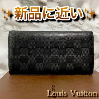 LOUIS VUITTON - ‼️限界価格‼️ Louis Vuitton ダミエ レザー 財布 ユニセックス