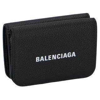 バレンシアガ(Balenciaga)の新品未使用 バレンシアガ BALENCIAGA 三つ折り 財布 新作 ブラック(折り財布)