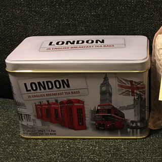 ハロッズ(Harrods)のハロッズ購入☆ロンドンバス ブレックファーストティー 25パック(茶)