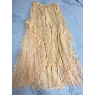 ROSE BUD - ロングスカート ローズバッド レーススカート