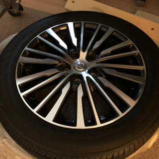 日産 - e52 エルグランド純正ホイール、タイヤセット 18インチ 美品