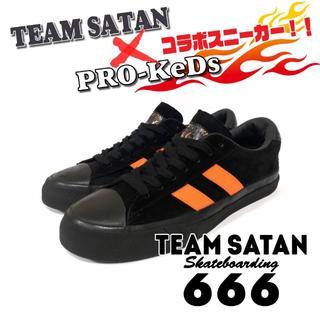 TEAM SATAN 666 x PRO-KeDs コラボスニーカー 新品!!