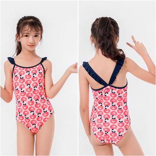 ファミリア(familiar)の子供用水着ビーチグッズ okaidi  女の子 新品(水着)