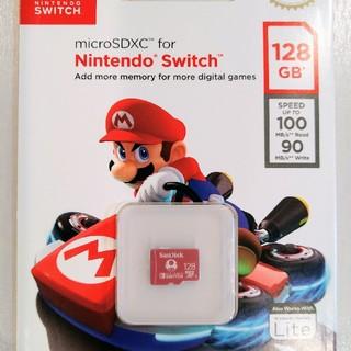 SanDisk - 任天堂 スイッチ 推奨  マイクロSDカード 128GB サンディスク