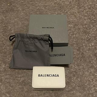 バレンシアガ(Balenciaga)のバレンシアガ エブリデイ ミニウォレット 白(折り財布)