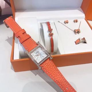 Hermes - 美品 レディース HERMES 時計 5点セット