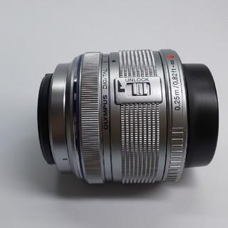 オリンパス(OLYMPUS)の新品 未使用品 Olympus m.zuiko14-42mm II Rシルバー(レンズ(ズーム))