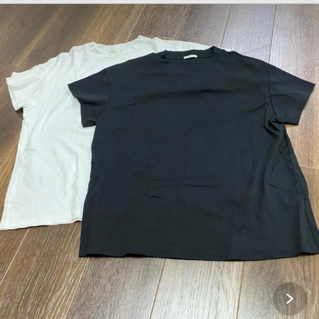 GU(ジーユー)のGU スムースT XL ホワイト レディースのトップス(Tシャツ(半袖/袖なし))の商品写真