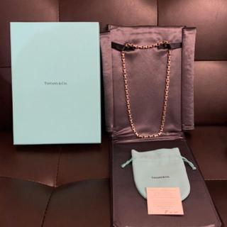 ティファニー(Tiffany & Co.)のTiffany  Tチェーンネックレス(ネックレス)
