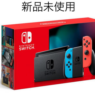Nintendo Switch - 任天堂 Switch スイッチ ( ネオン レッド ブルー )