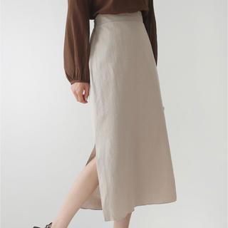 dholic - DHOLIC バックゴムHラインスカート ロングスカート