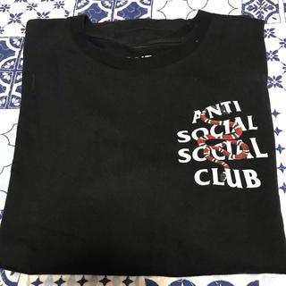 アンチ(ANTI)のanti social social club  蛇柄 Tしゃつ(Tシャツ/カットソー(半袖/袖なし))