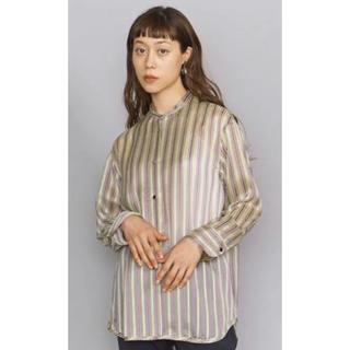 BEAUTY&YOUTH UNITED ARROWS - BEAUTY&YOUTH UNITEDARROWS シアーストライプシャツ