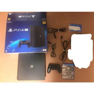 PlayStation4 - ★SONY PlayStation4 Pro 本体  CUH-7000BB01