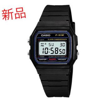 カシオ(CASIO)の【新品未使用】CASIO チープカシオ F-91W 腕時計(腕時計(デジタル))