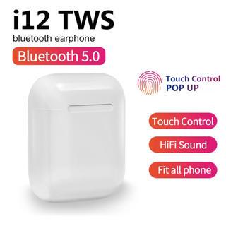 ワイヤレスイヤホン i12-tws Bluetooth5.0 高音質