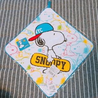 スヌーピー(SNOOPY)のスヌーピー!ループ&ネームタグ付きタオル!(その他)