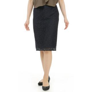 アオヤマ(青山)の洋服の青山 レーススカート(ひざ丈スカート)