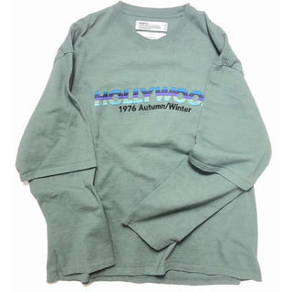 DAIRIKU 20aw HOLLYWOOD layered T-shirt