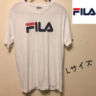 FILA - 【美品】FILA フィラ ロゴTシャツ Lサイズ 定番 送料無料