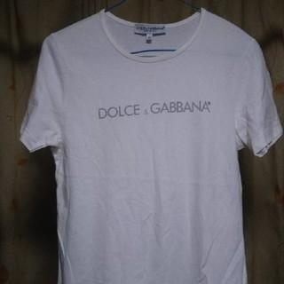 ドルチェアンドガッバーナ(DOLCE&GABBANA)の☆☆未使用ドルチェ&ガッバーナ白半袖Tシャツ(Tシャツ(半袖/袖なし))