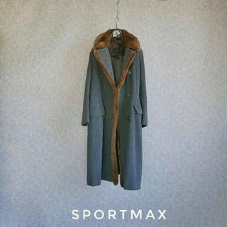 Max Mara - スポーツマックス ファーコート 冬先取りセール
