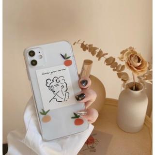トゥデイフル(TODAYFUL)のマンダリンアート iPhoneケース カラフル オレンジ(iPhoneケース)
